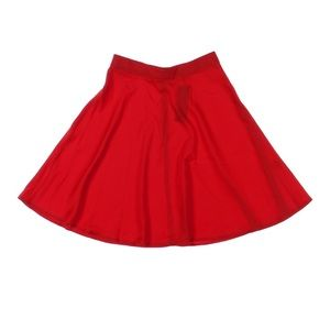 Allegra K A Line red skirtNWT, used for sale